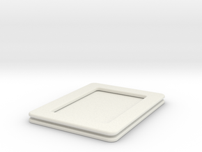 Playing Card Size PADD in White Natural Versatile Plastic