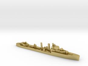 HMS Intrepid destroyer 1:1200 WW2 in Natural Brass