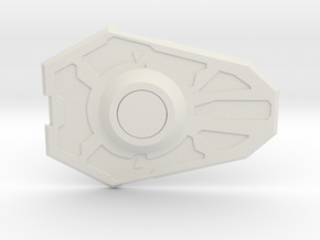 Transformers FOC OP Shield in White Natural Versatile Plastic