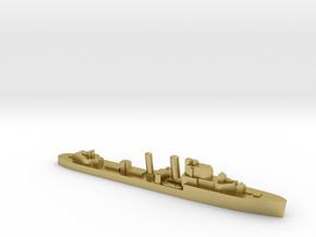 HMS Intrepid destroyer 1:1800 WW2 in Natural Brass