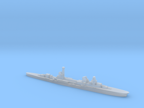 Raimondo Montecuccoli light cruiser 1:2400 WW2 in Smoothest Fine Detail Plastic