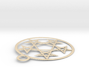inverted penta in 14K Yellow Gold