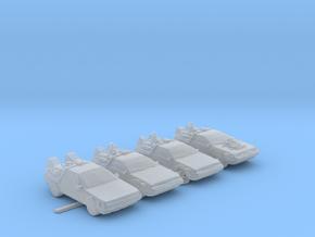 BTTF Deloreans 160 scale White in Smooth Fine Detail Plastic