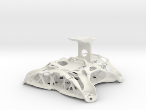 Chassis FPV Drone in White Natural Versatile Plastic