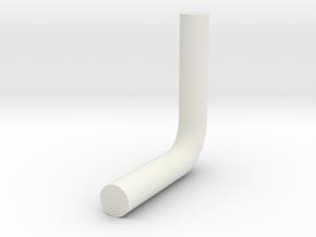 Pipe Bend v1 in White Natural Versatile Plastic