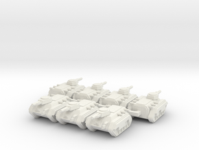 6mm APC Company in White Natural Versatile Plastic