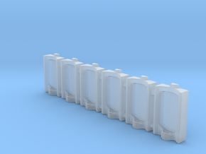 Urinal 02.HO Scale (1:87) in Smoothest Fine Detail Plastic