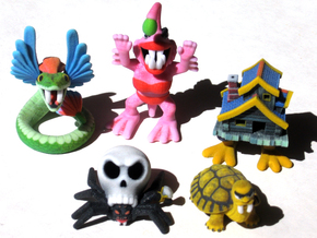 2 Inch Monsters: Batch 08 in Full Color Sandstone
