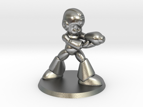 Megaman 1/60 miniature for games and rpg scifi in Natural Silver
