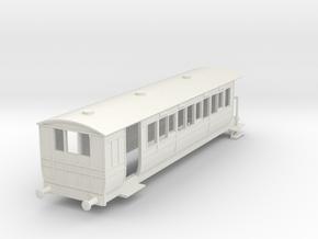 o-100-hmsty-selsey-falcon-brake-coach in White Natural Versatile Plastic