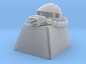 Zaku II (MS-06) Keycap in Smoothest Fine Detail Plastic