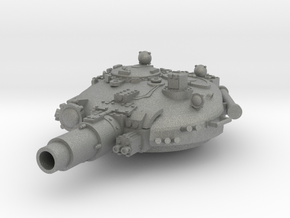 28mm T-72 style Invader turret in Gray Professional Plastic