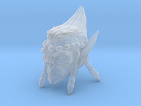 Interplanar Villian Head 2 in Smooth Fine Detail Plastic