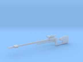 1:12 Miniature RAI Model 500 Sniper Rifle in Smooth Fine Detail Plastic: 1:12