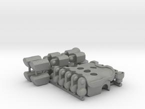 Transformers Combiner Ininity Gauntlet in Gray Professional Plastic