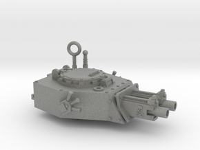 28mm APC turret x2 gyroject guns  in Gray PA12