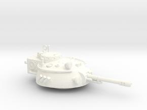 28mm Rauber tank turret - auto cannon in White Processed Versatile Plastic