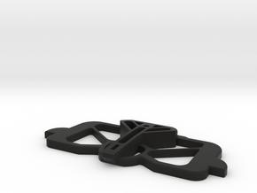 Mavic Air, Mavic 2 Pro/Zoom CrystalSky mount basep in Black Natural Versatile Plastic