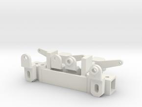 Vooras 50mm print file in White Natural Versatile Plastic