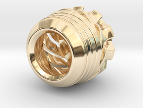 tzb muon in 14k Gold Plated Brass