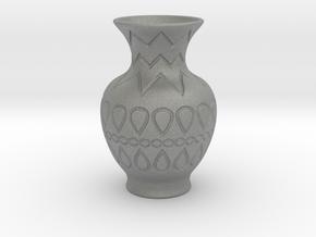 Vase_09 in Gray PA12