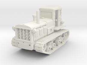 STZ 3 Tractor 1/87 in White Natural Versatile Plastic