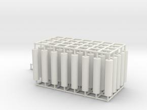 Pipe Package v1 in White Natural Versatile Plastic
