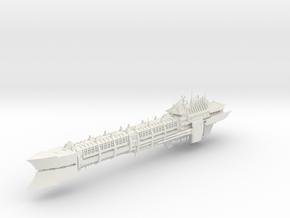 Chaos Renegade Long_ship - 3 in White Natural Versatile Plastic