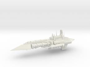 Chaos Renegade Escort Ship - 1 in White Natural Versatile Plastic