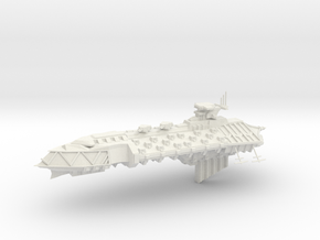 Chaos Cruiser Concept - C  in White Natural Versatile Plastic