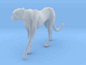 Cheetah 1:15 Walking Male 4 in Smooth Fine Detail Plastic
