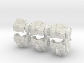 LeIg 18 support gun (6 pieces) 1/56 in White Natural Versatile Plastic