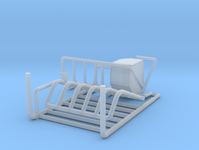 1/64 Robot milker LH-4 Gate set  in Smooth Fine Detail Plastic