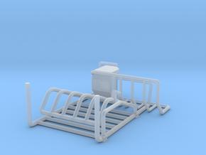 1/64 Robot milker RH-4 Gate set  in Smooth Fine Detail Plastic