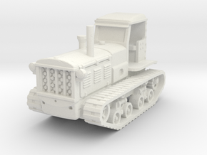 STZ 3 Tractor (late) 1/87 in White Natural Versatile Plastic