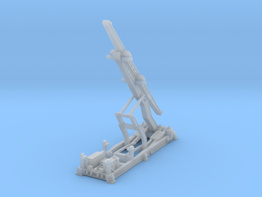 1:144 - Nike Hercules Launcher Extended in Smooth Fine Detail Plastic