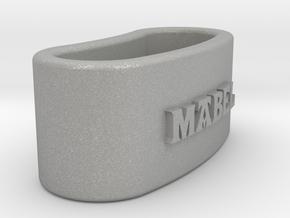MABEL napkin ring with lauburu in Aluminum