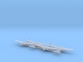 Ki-19 w/Gear x4 (FUD) in Smooth Fine Detail Plastic: 1:700