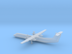 Bombardier Dash 8 Q400 in Smooth Fine Detail Plastic: 6mm