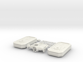 1st Order TIE Tank Interceptor in White Natural Versatile Plastic