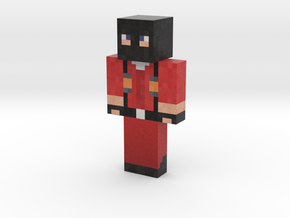 JasonGrant_RED | Minecraft toy in Natural Full Color Sandstone