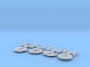 Micro Machine Fleet in Smooth Fine Detail Plastic