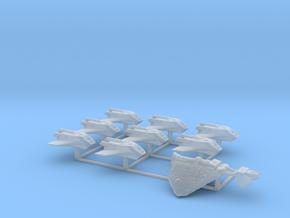 Dorok Zalaster's Pirate Fleet in Smooth Fine Detail Plastic
