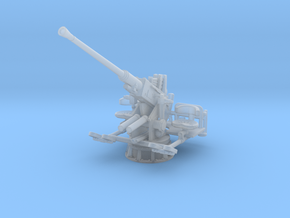 1/100 USN Single 40mm Bofors Elevated in Smooth Fine Detail Plastic