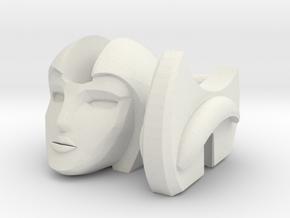 Beta Head for MMC R-27 Calidus in White Natural Versatile Plastic