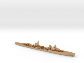 Duca d'Aosta light cruiser 1:2400 WW2 in Natural Bronze