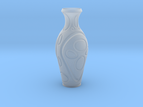 Vase-16 in Smooth Fine Detail Plastic