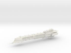 Imperial Legion Long Cruiser - Armament Concept 7 in White Natural Versatile Plastic
