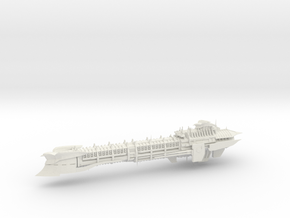 Imperial Legion Long Cruiser - Armament Concept 9 in White Natural Versatile Plastic