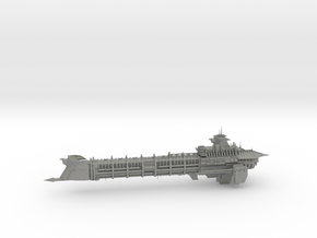 Imperial Legion Long Cruiser - Armament Concept 15 in Gray PA12